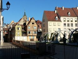 Holiday rental in Colmar, Alsace.