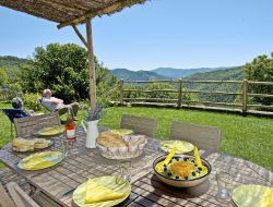Holiday home in the Cevennes national park, south of France.