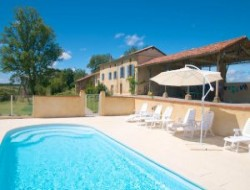 Holiday home with pool in Midi Pyrenees.