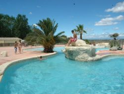 Seaside holiday accommodations in Languedoc Roussillon near Castries