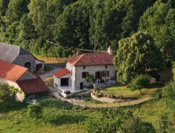 Holiday home in the Cantal, Auvergne near Latronquiere