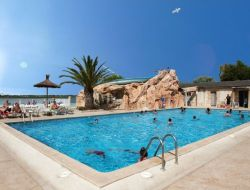 Seaside holiday rental on camping in south of France near Canet en Roussillon
