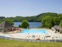 Holiday accommodation in camping in Aveyron. near Curières