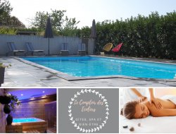 Gites with heated pool in Poitou Charentes.