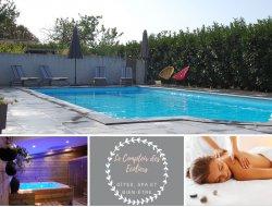 Gites avec piscine chauffée en Charente Maritime