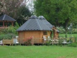 Unusual holiday accommodation in Brittany near Saint Pern