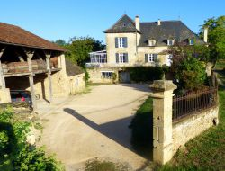 B&B near Rocamadour in the Lot, Midi Pyrenees. near Gramat