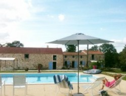 Holiday home with heated pool in Pays de la Loire