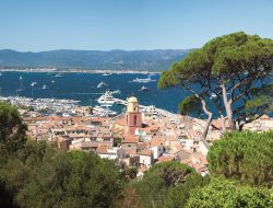 Holiday accommodation in St Tropez, French Riviera.