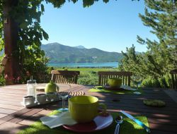 B&B close to Lac de Serre Poncon in French Alps.