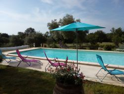 Holiday homes with heated pool in the Languedoc