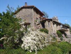 Holiday accommodation for a group near Mercantour national park near Roquebillière