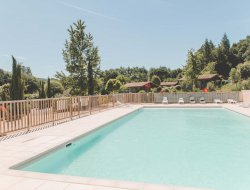 Holiday village in the Lot, Midi Pyrenees. near Salviac