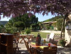 Holiday residence in Ardeche, Rhone Alps.
