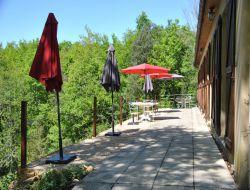 G�tes avec piscine pr�s de Sarlat en Dordogne.