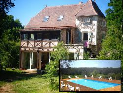 Holiday home in the Lot, Quercy, Midi Pyrenees. near Vers