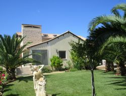 Seaside holiday accommodation in the Languedoc. near Pomérols