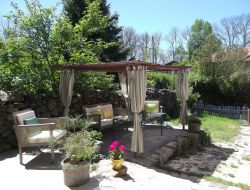 Holiday cottage in Ardeche, Rhone Alps. near Saint Jean la Fouillouse
