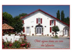 Holiday accommodation near Dax in Aquitaine.