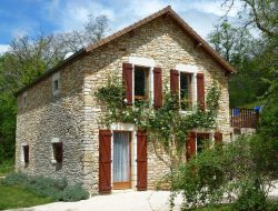 Holiday home near Cahors in France near Dégagnac