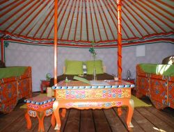 Unusual stay in yurts in Provence