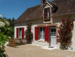 Holiday home close to Chambord in France near La Ferte Saint Cyr