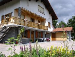 Holiday gite in the Vosges ski resort, France.