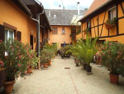 Holiday home in the center of Alsace.