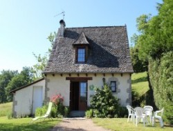 Holiday home in the Cantal in Auvergne, France. near Lacroix Barrez