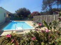 Location saisonni�re avec piscine a Mimizan