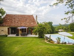 Holiday home close to Bergerac in Dordogne, Aquitaine.