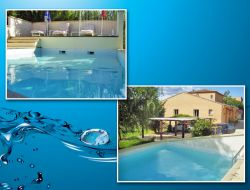 Holiday home near Nimes in Languedoc Roussillon. near Boisset et Gaujac