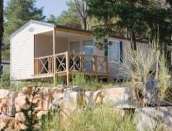 Riez Camping mobilhome en haute Provence
