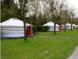 Holiday in yurts near Saint Malo and the Mont Saint Michel