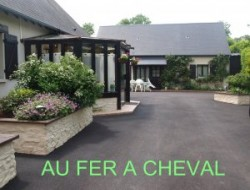 Holiday home with heated pool in Normandy. near Fauguernon