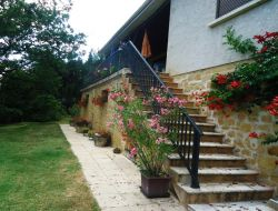 Holiday rental near Sarlat in Aquitaine.
