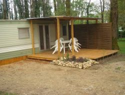 Holidays in mobil-home in Dorodgne, Aquitaine.