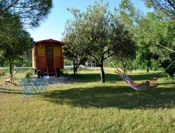 Unusual stay in gypsy caravan in Provence