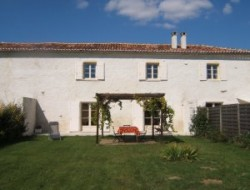 Holiday home with heated pool in Poitou Charentes, France.