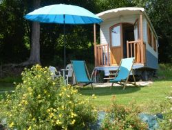 Holidays in a gyspy caravans in Normandy