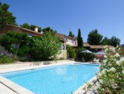 Gites with pool in Provence, France.