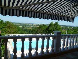 Location avec piscine priv�e dans le Lot et Garonne.