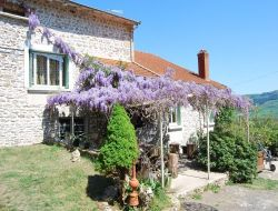 Holiday home near Cluny in Burgundy.