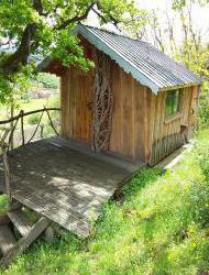 Séjour insolite en cabane perchée en Bourgogne