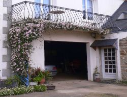 Holiday rental near Quimper in Brittany, France. near Plomodiern