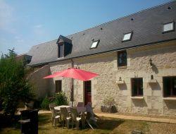 Gites a louer avec piscine en Indre et Loire.