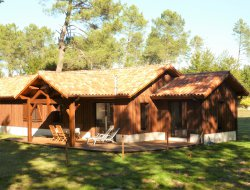 Holiday home with spa and pool in the Landes, Aquitaine.
