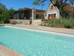 Gite de charme avec piscine en Corr�ze.