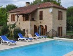 Big capacity holiday home near Cahors in the Lot near Saint Front sur Lémance