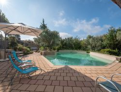 Holiday home with pool in Provence, France.